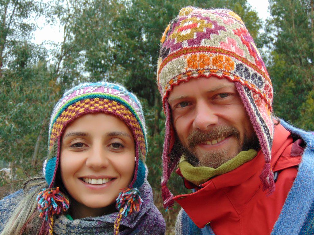 Vamoss Türk evinde tanıştığım Ferhan ile Fatih.