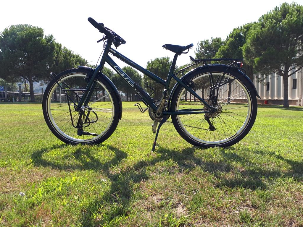 Yeni bisikletim Hermes, Accell Bisiklet tarafından benim için bir tane üretildi.