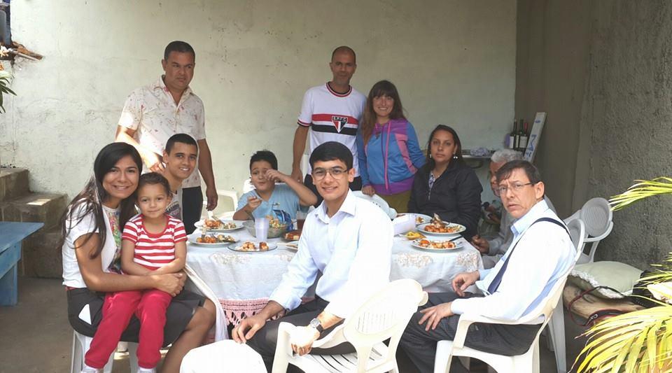 Güney Amerika'ya ilk ayak bastığımda kaldığım Fernando'nun evi ve ailesi