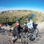 Şili'de warmshowers ile evinde kaldığım Baltazar ile yaşadığı şehrin çevresinde bisiklet turu yapmıştık