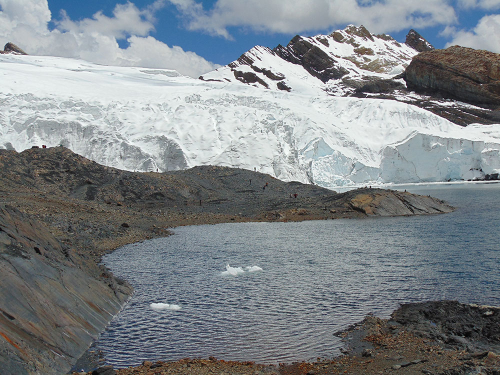 Peru Pastoruri Buzulu