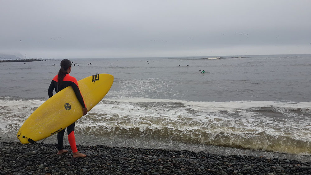 Peru'nun Lima şehri dünyanın bir çok yerinden gelen sörfçülere ev sahipliği yapıyor.
