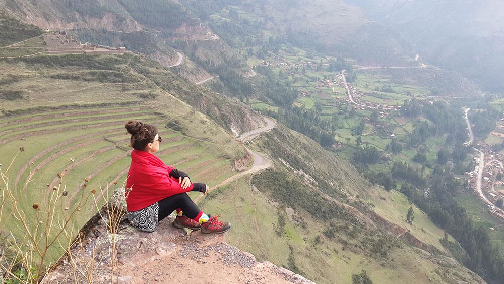 Peru Pisac harabeleri