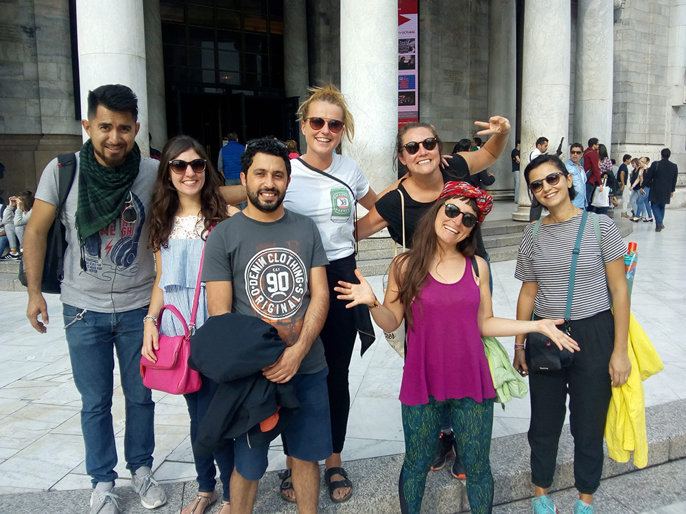 free walking tour mexico city