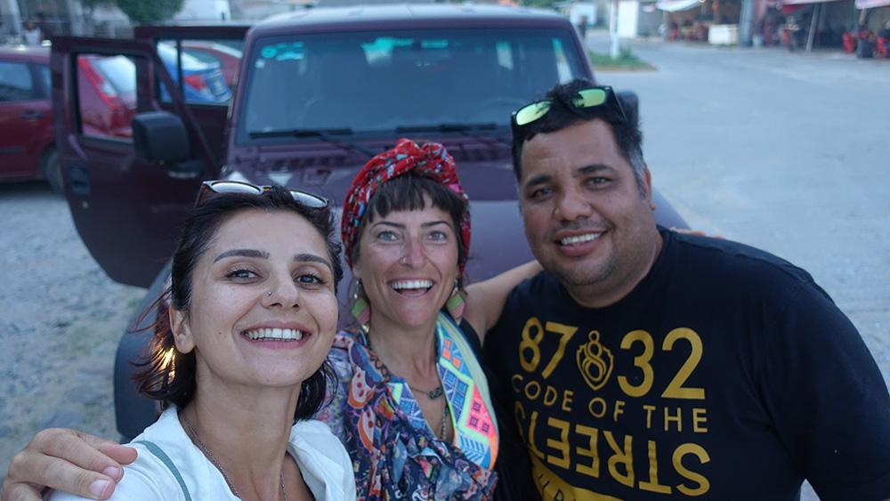 Meksika'da otostop çekmek