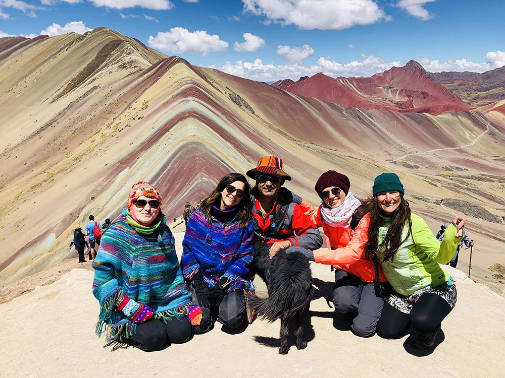 Gökkuşağı Dağları, Peru