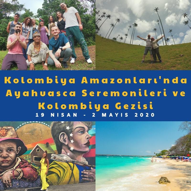kolombiya ayahuasca seremonileri
