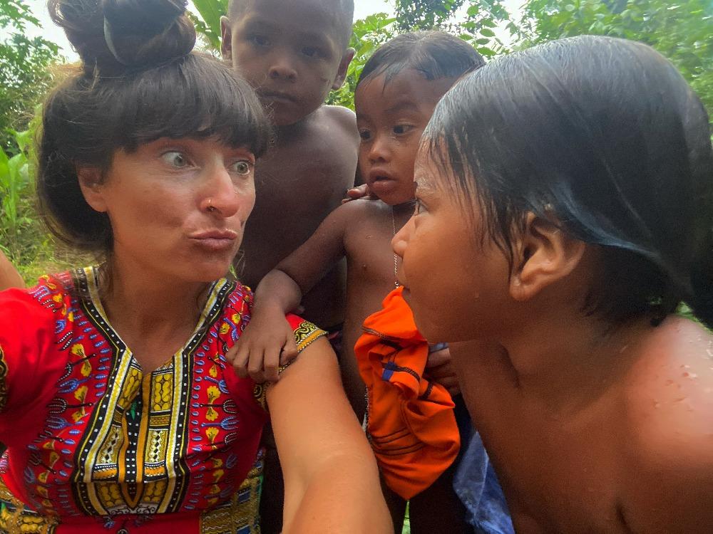 Kolombiya Turu Embera Yerlileri